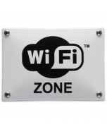 emaille horecabord wifi zone