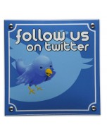 emaille horecabord follow us on twitter MS-04