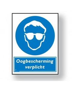 2502 gebodsbord oogbescherming verplicht DGE02