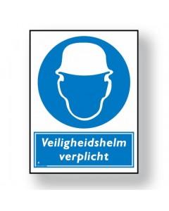 gebodsbord veiligheidshelm verplicht DGE09