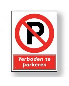 verbodsbord verboden te parkeren DRO42