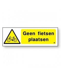 geen fietsen plaatsen DGE61