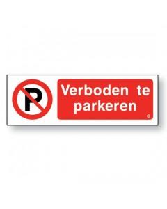 verboden te parkeren DRO71