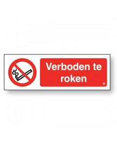 verboden te roken DRO72