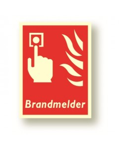 bordje brandmelder DBR21