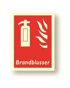 bordje brandblusser DBR23