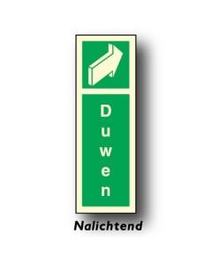 bord deur duwen rechts nalichtend DHU26