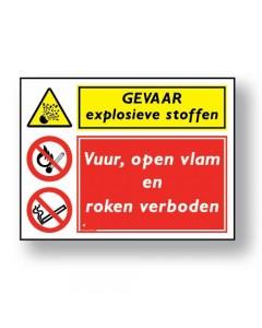combinatie veiligheidsbord gevaar DCO01