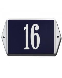 emaille huisnummer oor 16x12cm HO-44