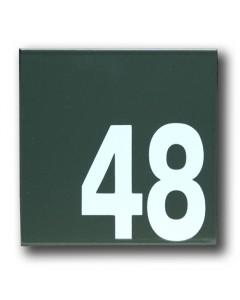 emaille huisnummer robina 16x16cm HR-51