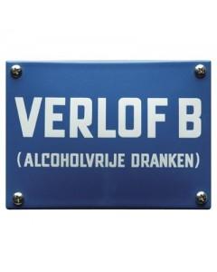 emaille horecabord verlof b