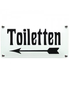 emaille horecabord toiletten links NH-53