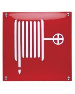 emaille veiligheidsbord brandslang NH-41