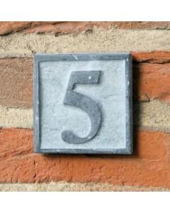 natuursteen huisnummer small 8,5x8,5cm