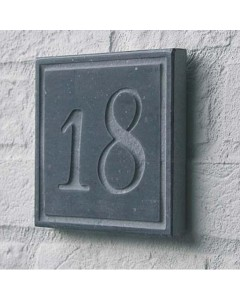 natuursteen huisnummer square3 15x15cm