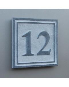 natuursteen huisnummer square4 15x15cm