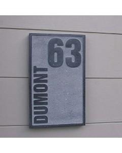 natuursteen naambord board1 15x25cm